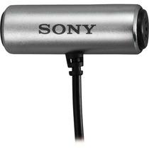 Microfone Sony Externo - Especial Para As30, As100 E Gopro