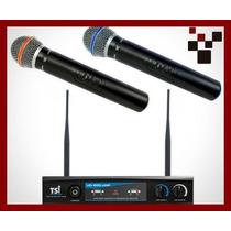 Microfone S/ Fio Tsi Ud-800 Uhf !!