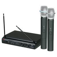 Microfone Duplo S/ Fio Karsect Uhf - Kru 302 - Frete Grátis