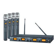 Microfone Sem Fio Quadruplo Staner, Modelo Srw-48 Q