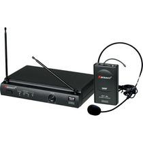 Microfone S/ Fio Karsect Kru301 Headset Na Cheiro De Música