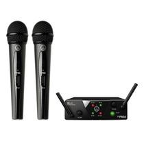 Akg Wms 40 Mini2 . Microfone Sem Fio Duplo Uhf . Loja . Top