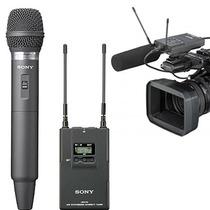 Pacote Microfone Sem Fio Sony Uwp-v2 De Mão Wireless - Mg