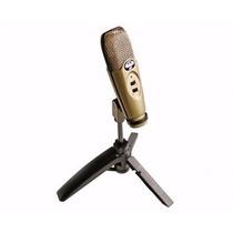 Microfon Cad U37 Usb Condensado Estúdio De Gravação Promoçao