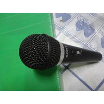 Microfone Sony Cardioide Dinâmico Semi Novo Jts Superlux