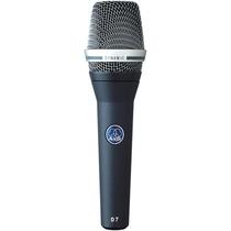 Microfone Akg D7 Supercardióide Dinâmico   Nfe   Garantia!
