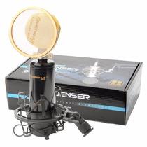 Microfone Professional Condensador Estúdio De Gravação Som