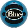 Microfone Condensador Snowball Usb - Electric Blue