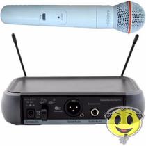Microfone Kadosh Branco K-581s Uhf Sem Fio P R O M O Ç Ã O