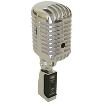 Microfone Vintage Yoga Yvm55 Com Fio Case Para Transporte
