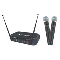 Microfone Sem Fio De Mão Vhf Vh202pro-mm Lyco Marcelo E M