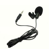 Microfone De Lapela C/ Fio Exbom Mc-50