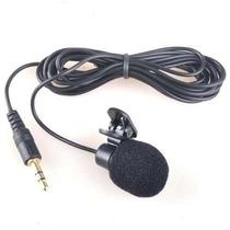 Microfone Lapela P2 (3,5mm) - Frete 8,00