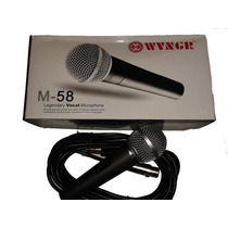 Microfone Com Fio Profissional M-58