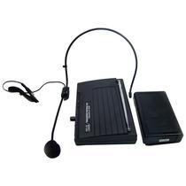 Microfone Lapela E Auricular Sem Fio Microfone Headset Lapel