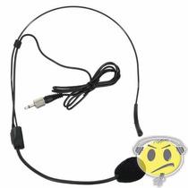 Microfone Cabeça Headset Karsect Ht9 P2 C/ Rosca Loja