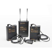 Microfone De Lapela Azden Wdl-pro Camera Dslr Sem Fio