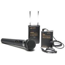 Microfone De Mão Azden Wdm-pro 2 Canais Camera Dslr Sem Fio