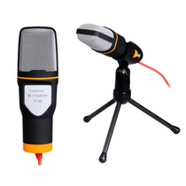 Microfone De Mesa Com Tripe De Alta Definição