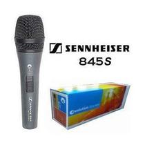 Microfone Sennheiser E845s Novo - Frete Grátis P/ Todo O Br!