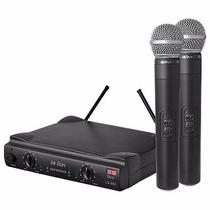 Microfone S/ Fio De Mão Leson Duplo Uhf Ls-802 Ht ,original