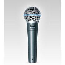 Frete Grátis - Shure Beta58a Microfone Para Vocal Ou Violão