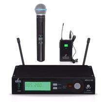 Microfone Arcano Arlx-100 (htb) Mic De Mão E Bodypack