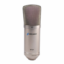 1 Microfone Arcano St-01 + 1 Interface Arcano Ar-xlr-usb