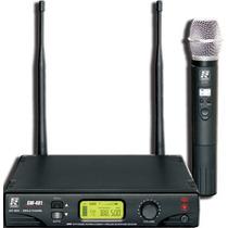 Microfone Sem Fio Staner Mao Uhf Sw 481