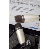 Samson C03 Multi Pattern Condenser Microphone Frete Gratis