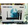 Microfone Sem Fio Duplo Vocal Vws-20- Lançamento 2016