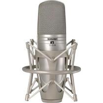 Microfone Condensador Shure Com Diafragma Duplo Ksm44-sl