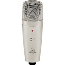 Behringer C1: Microfone Condensador Cardioide Behringer C-1