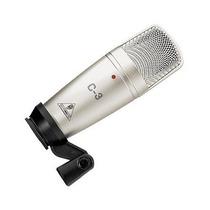 Microfone Condensador Behringer C3 Maleta Transporte Grátis