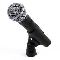 Microfone Profissional Shure Sm58-lc Cardióide Sm58 + Frete!