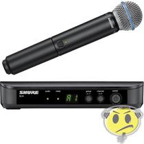 Microfone Shure Sem Fio Blx24br / Beta58 Loja Credenciada