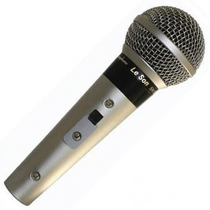 Leson Microfone Profissional Com Fio Cardióide Sm58 P4
