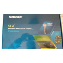 Microfone Shure Sem Fio Slx24 Beta58a