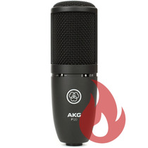 Akg Perception 120 Black . Microfone . Loja . Nf + Gtia !