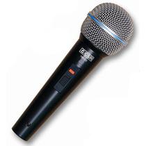 Microfone Csr Dinâmico Super Cardioide Pro 2.0 Cabo 3,5 M