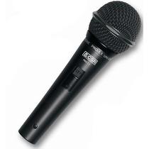 Microfone Csr Dinâmico Super Cardióide Pro 1.1 Cabo 3,5 M