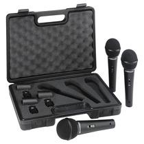 Xm1800s: Kit Com 3 Microfones Xm 1800s - Behringer