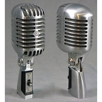 Microfone Vintage Shure 55sh Series Il Frete Grátis - Veja
