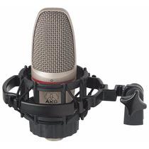 C3000b Microfone Condensador Profissional Akg C3000 B Novo