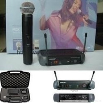 Microfone De Mao Shure Pgx24 Beta 58 Sem Fio