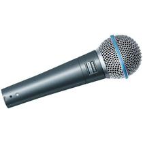 Microfone Shure Beta58a Novo-frete Grátis Para Todo Brasi