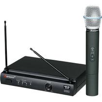 Microfone Sem Fio De Mão Uhf Karsect Kru-301