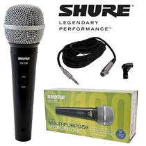 Microfone Shure Sv-100 ++ General Som ++