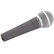 Microfone Shure Dinamico Sm58 Lc - 100% Original - Betasom
