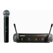 Microfone Shure Pgx 24 Beta 58 Sem Fio Beta58a Frete Grátis!